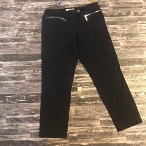 Michael Kors black ankle pants